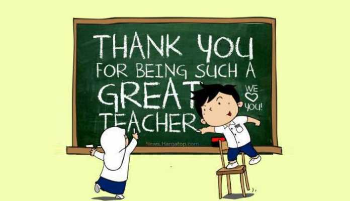 Kata Kata Mutiara Hari Guru Dalam Bahasa Inggris
